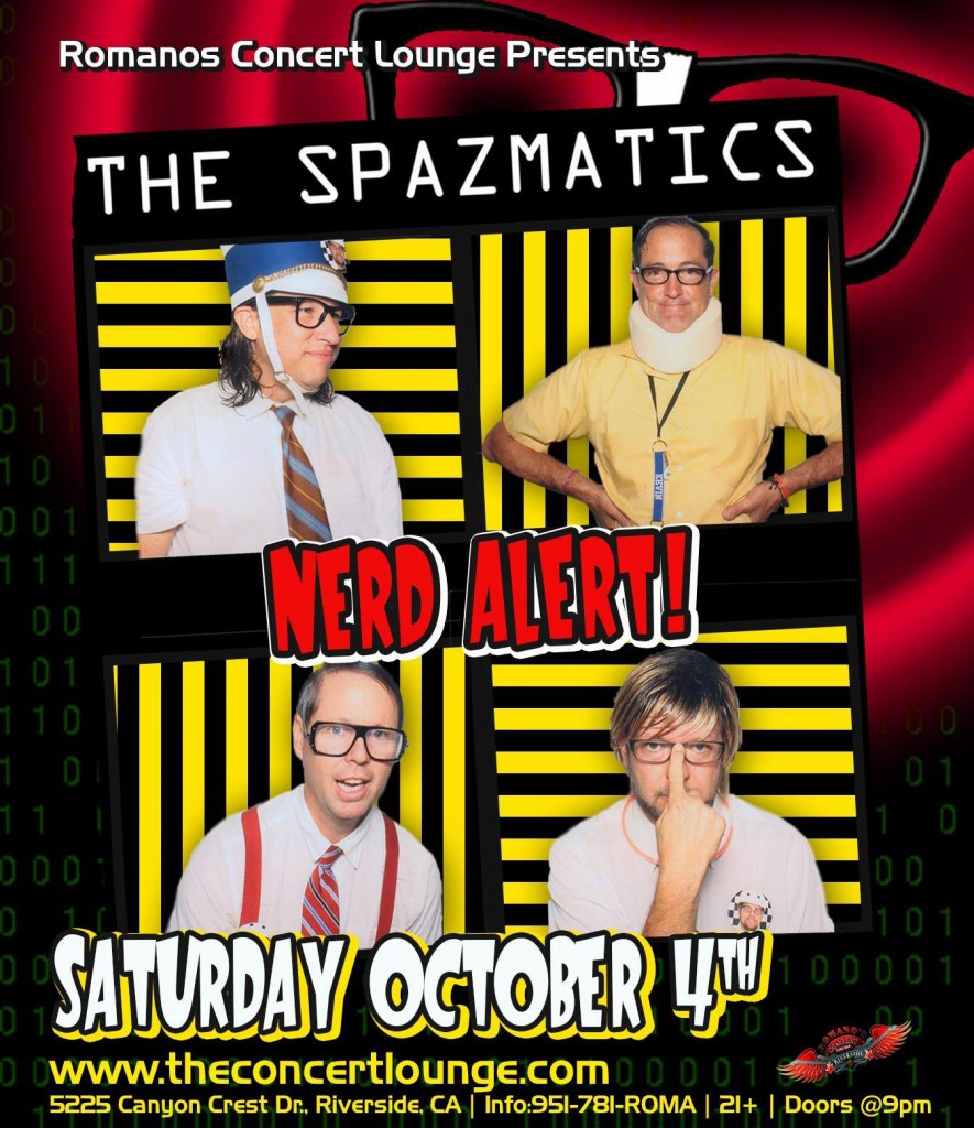Spazmatics Romanos Oct.4