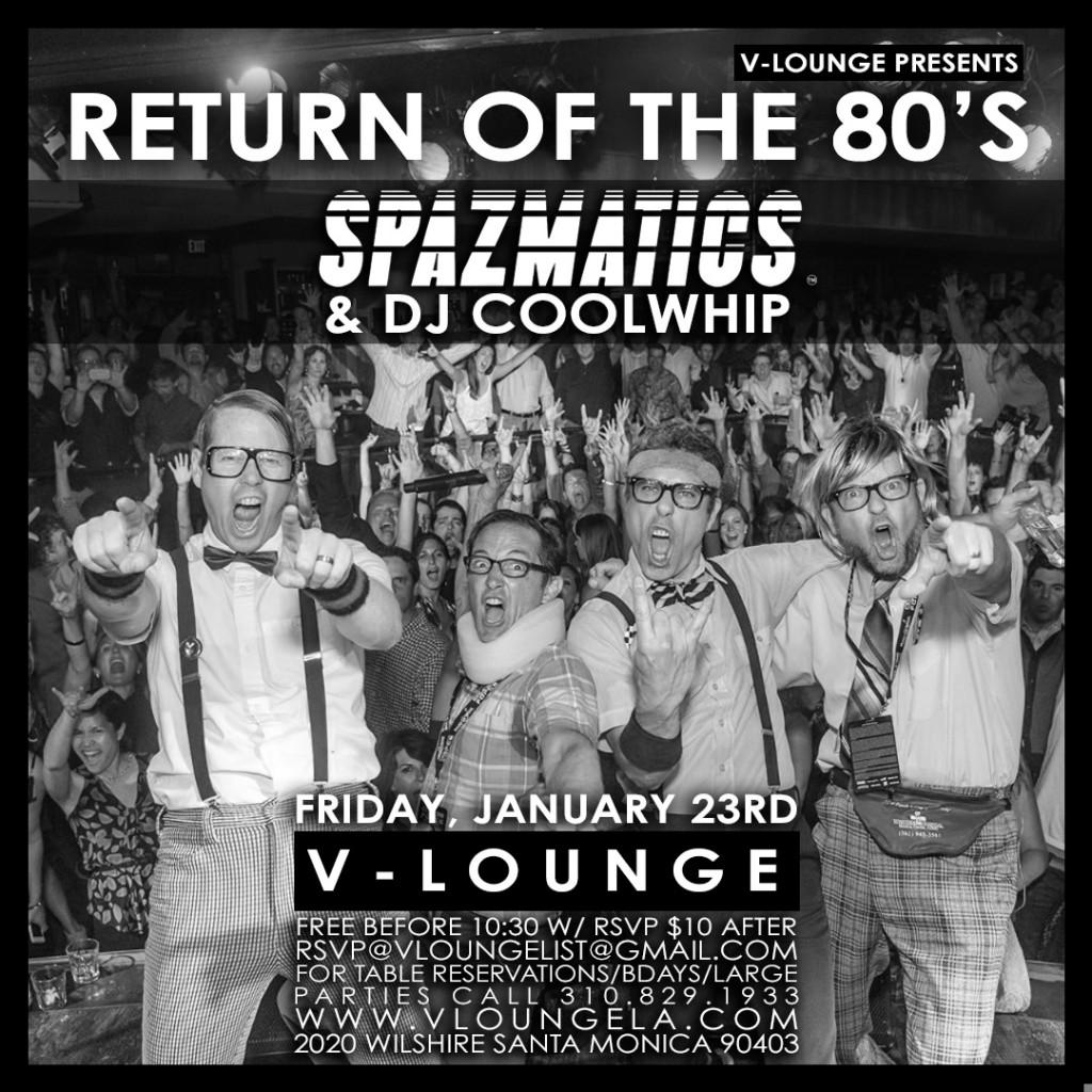 Spazmatics V Lounge Santa Monica
