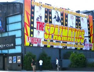 The Spazmatics at The Key Club Hollywood