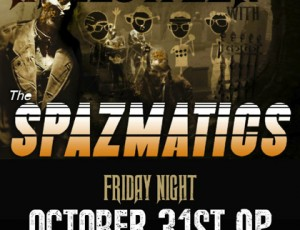 Halloween at Saint Rocke with The Spazmatics!